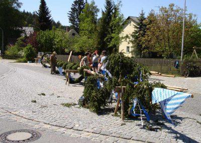 Maibaumaufstellen 2007
