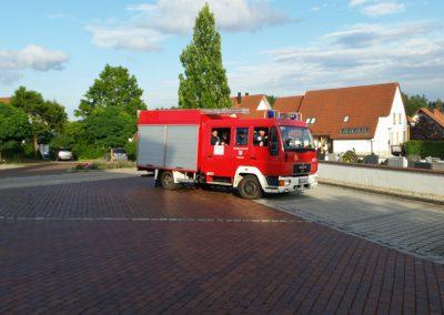 Atemschutzübung mit der FF Obersüßbach