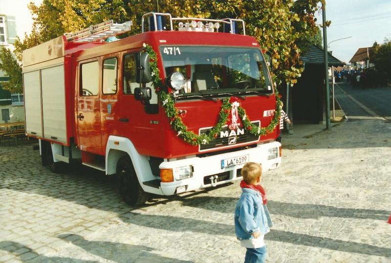 unser neues Feuerwehrauto 1995