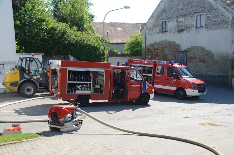 Gemeinschaftsübung an der GS Neuhausen im Mai 2017
