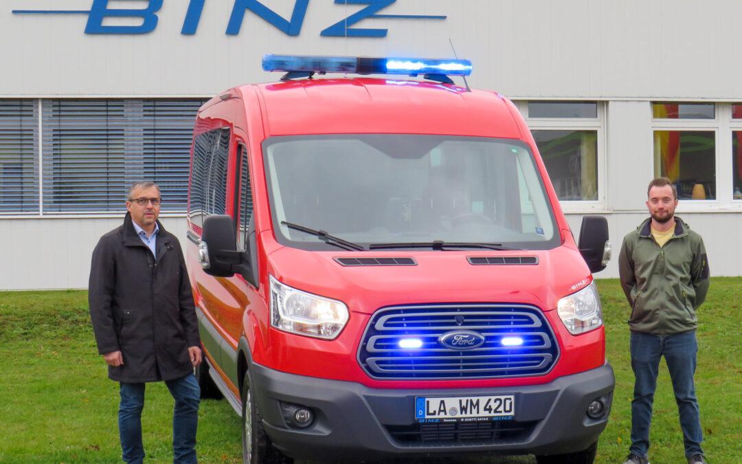 Mehrzweckfahrzeug für die Feuerwehr Weihmichl